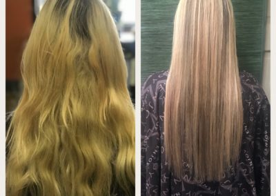 honey-blonde-hair-Bayalage-tape-in-extensions
