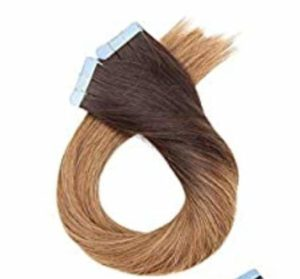 European Root Shawdow Baylage Tape-In Extensions #4 to 22 22 Inches Thick To Ends No Short Hairs